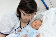 Tadeáš Řehout  bude doma s rodiči Terezou a Michalem v Jablonném nad Orlicí. Narodil se 18. 12. ve 23.33 hodin  s váhou 3,310 kg. Sestřička se jmenuje Michalka.