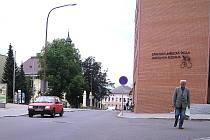 Smetanova ulice v Ústí nad Orlicí.