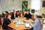 Kraj je připraven pomoci s rozvojem infrastruktury v Čenkovicích