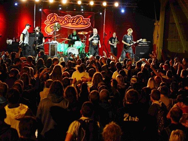 17. ročník hudebního festivalu Kunčický kravál.