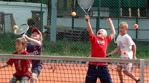 Letní tenisová škola v Ústí nad Orlicí