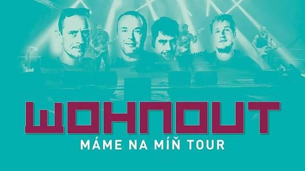 Koncert Wohnout v Ústí nad Orlicí.