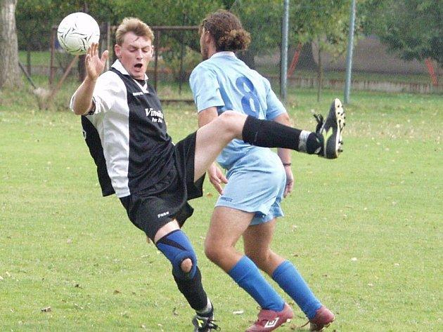Sedmibodový náskok mají  fotbalisté Žichlínku, kteří vedou IV. třídu mužů (Ilustrační foto).