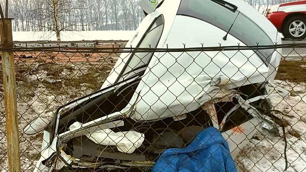 Tragická dopravní nehoda ve Vysokém Mýtě.