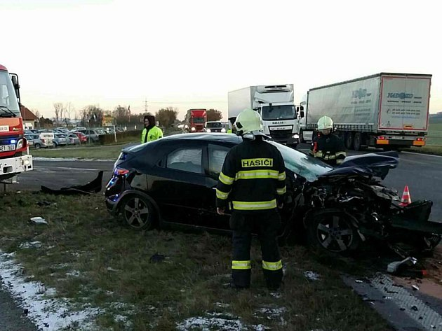 Nehoda v Zámrsku.