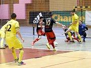 Varta futsal liga: 1. FC Nejzbach Vysoké Mýto - AC Gamaspol Jeseník.