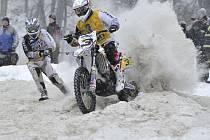 Motoskijöring zahájí sezonu v Martinicích.