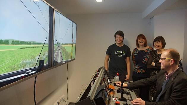 Moderní učebny a železniční simulátor. Technická škola se pyšní novým zázemím.