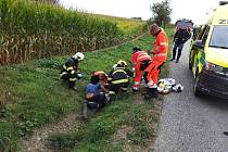 Nehoda se stala ve směru na Kameničnou.