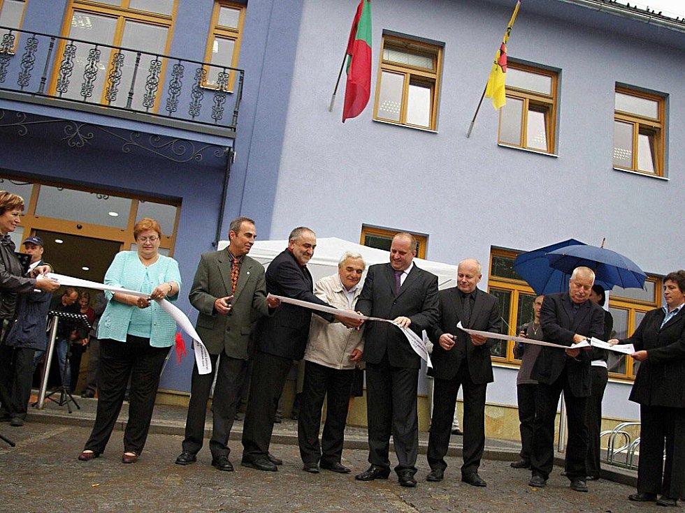 Slavnostní otevření nové letohradské radnice.