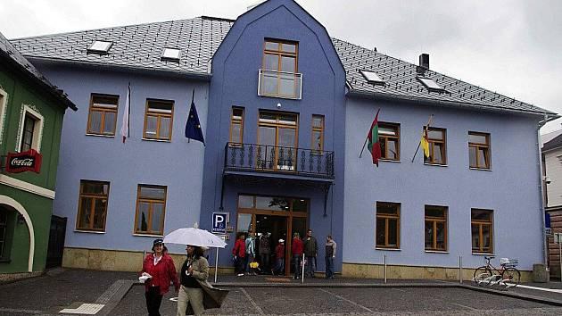 Letohradská radnice.