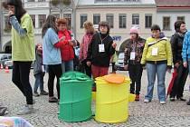 Integrační setkání osob se zdravotním postižením s veřejností v Ústí nad Orlicí.