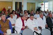 Ze setkání v Orlickoústecké nemocnici, a. s.