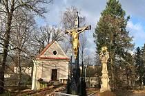 Rekonstruovaná hřbitovní kaple v Ústí nad Orlicí.