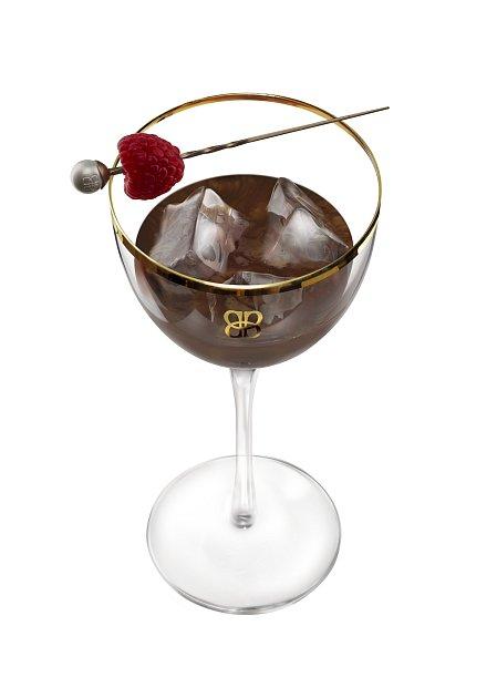 Baileys Chocolat Luxe na ledu pro váhy.