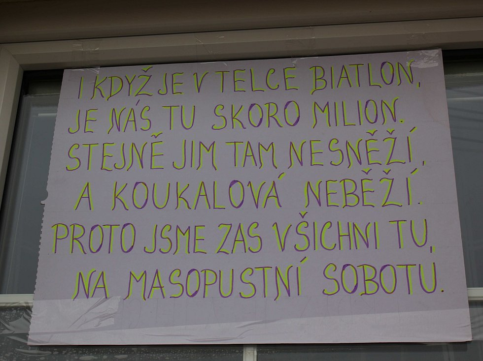 Masopust v Českých Heřmanicích.