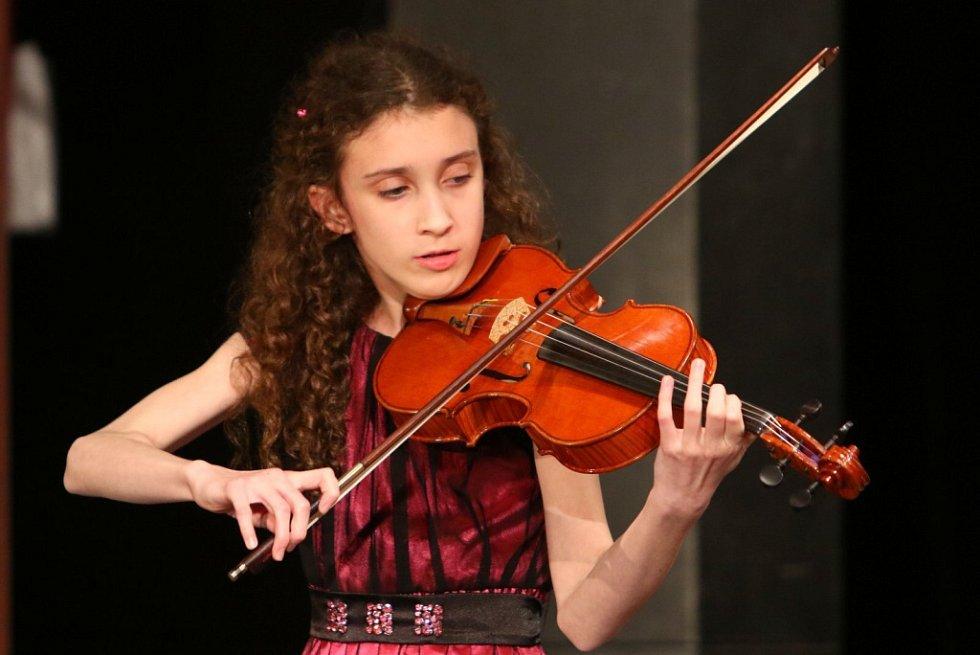 Vyhlášení vítězů jednotlivých kategorií a laureáta Kocianovy houslové soutěže 2015.