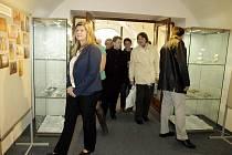 Z otevření nové expozice Městského muzea v Letohradu.