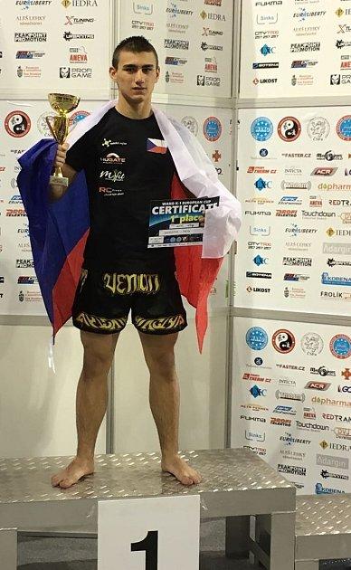 Petr Dvořáček vyhrál turnaj vPraze.