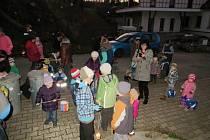 Světélkování v Jablonném nad Orlicí.