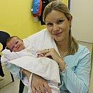 Žofie Netušilová se narodila 29. 12. v 6.55 hodin. Vážila 2,2 kg, měřila 45 cm a s rodiči Lindou a Michalem a sourozenci Tobiášem a Tomášem bude doma v Lanškrouně.