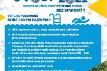 Informační plakát Bezpečně u vody.