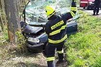 Dopravní nehoda u Vraclavi