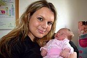 Natálie Vítková, tak pojmenovali prvorozenou dceru Žaneta a Tomáš z Lipovky. Holčička se narodila 27. 5. v 18.20 hodin, kdy vážila 3,660 kg.