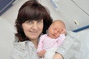 Renata Borková se narodila 7. 5. v 16.54 hodin. Na svět si přinesla 3,79 kg a z holčičky mají radost rodiče Jana a Pavel i bratr Lukáš z Letohradu.