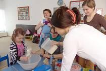 Kurz zdravého vaření v mateřském centru Medvídek