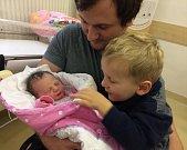 Tamara Šťastná je po Markovi druhým dítětem Dany a Radka z Letohradu. Narodila se 23. 11. v 15.09 hodin a vážila 3,2 kg.