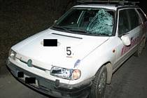 Tragická dopravní nehoda u Třebovic.