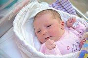 Eliška Domlátilová bude doma s rodiči Danielou Jiskrovou a Jaroslavem Domlátilem ve Sloupnici. Narodila se 25. 10. v 7.49, kdy vážila 3,150 kg.