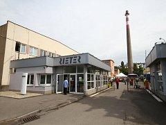 Rieter v Ústí nad Orlicí.