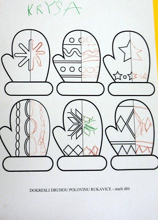šablonky zasílané dětem