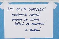 Oznámení