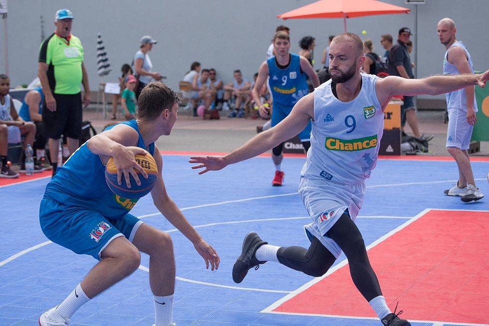 Streetballový turnaj - Memoriál Mistra Jana Husa v České Třebové.