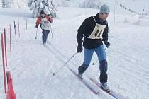 Klasické lyžování. Ilustrační foto