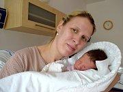Sofie Zastoupilová dělá radost Veronice a Janovi z Dolní Čermné. Narodila se 19. 2. v 19.59 hodin s váhou 3,650 kg.