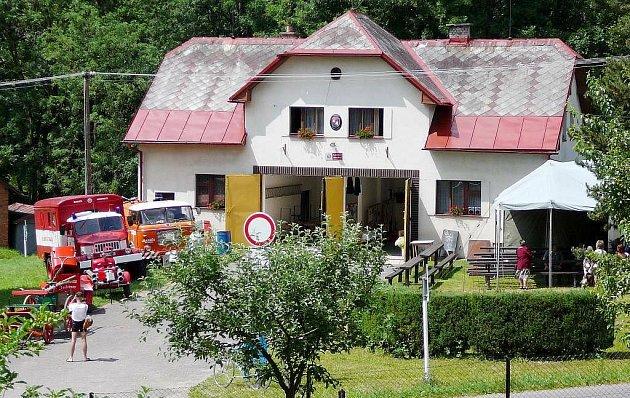 Zbrojnice Sboru dobrovolných hasičů Kunvald.