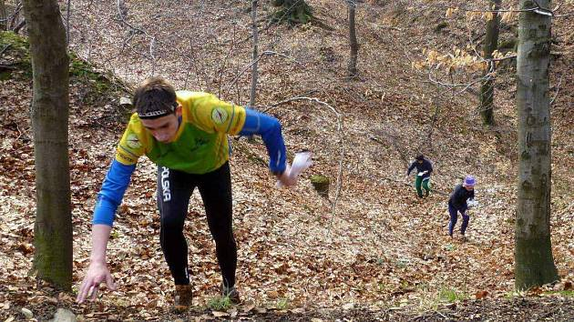 Na Andrlově chlumu vyrostly tratě pro orientační běh.