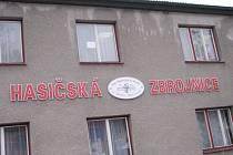Hasičská zbrojnice v Dolní Dobrouči.