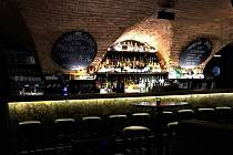 Interiér baru v Lanškrouně