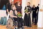 Vernisáž výstavy 3 spojená umění Richarda Peška a jeho syna Richarda a dcery Aleny.