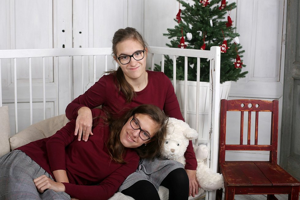 Dvojčata Eliška a Anežka