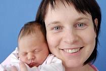 Veronika Jirsáková je od 4. 12. první radostí Jitky a Martina Jirsákových z Vysokého Mýta. Narodila se ve 2.40 hodin, kdy vážila 2,68 kilogramu.