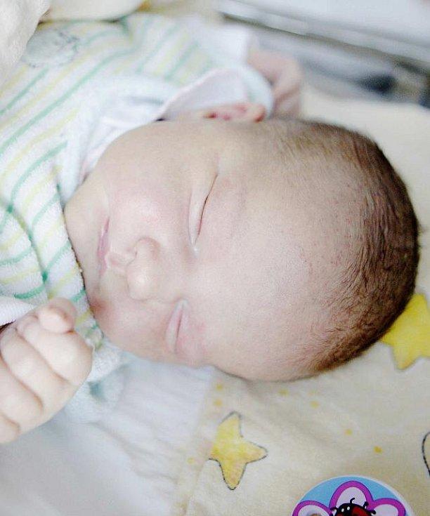 Sofie Kotriková se narodila 4. 1. ve 4:47 v pardubické porodnici. Vážila 3,5 kg. Maminku Petru u porodu podpořil tatínek Radek a doma v Chocni čekají sourozenci Honza a Simona.
