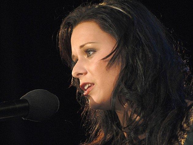 Jana Hoffmanová při volbě královny.
