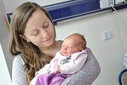 Johanka Kubešová se narodila 1. 3. ve 20.09 hodin Veronice a Michalovi ze Svinné. Na svět přišla s váhou 2,92 kg.