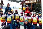Děti z Mateřské školy Hejnice se už nemohly dočkat, až pojedou na lednový lyžařský kurz v Českých Petrovicích.